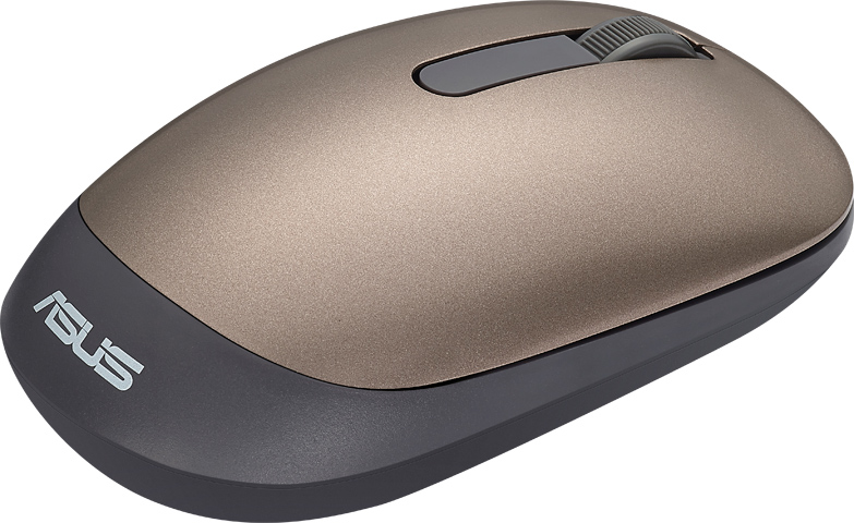 Asus WT205 altın renkli mouse